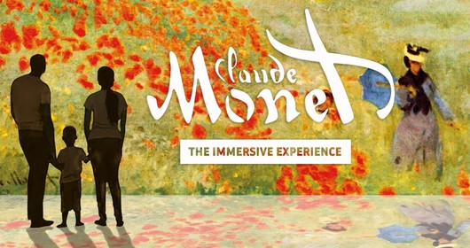 "Cloude Monet  ""The immersive experience"""