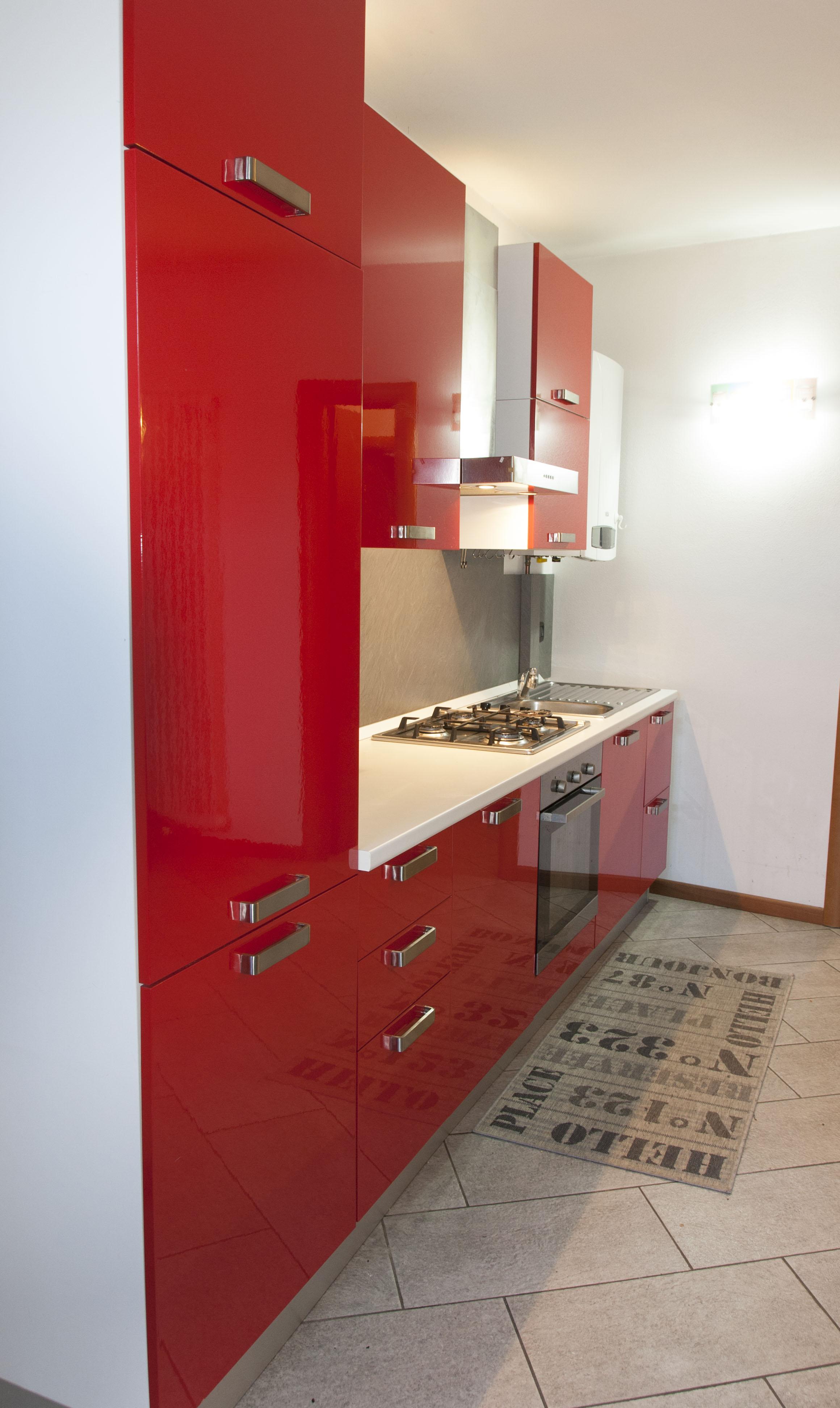 Cral cariparma cucina ricci casa di colore rosso laccato - Ricci casa piacenza ...